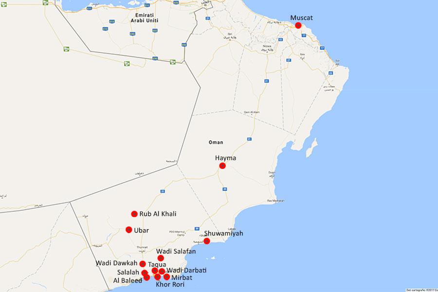 Ancient Oman Alkoor Tourism